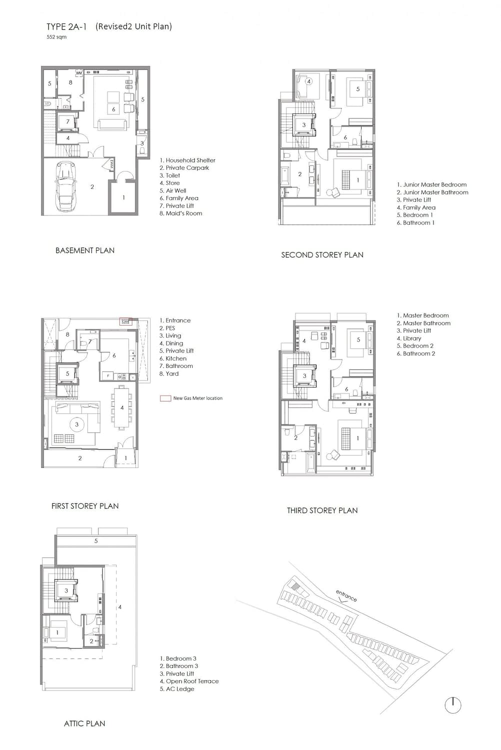 Parkwood Collection Parkwood Collection Floorplan 2A 1 scaled