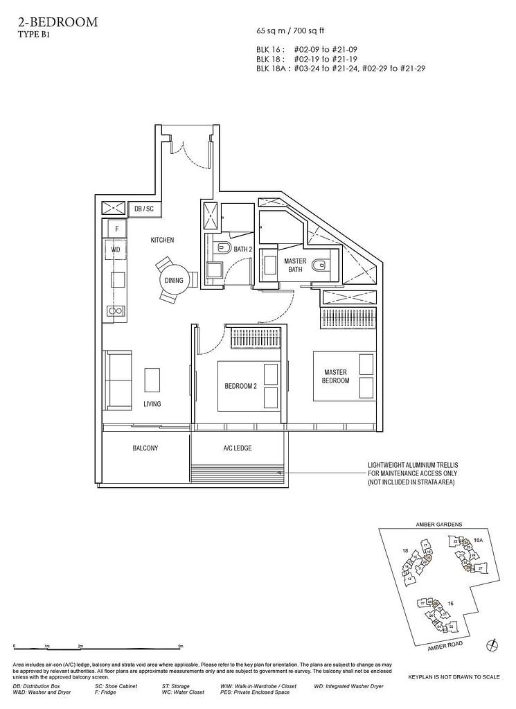 Amber Park Amber Park floorplan layout B1