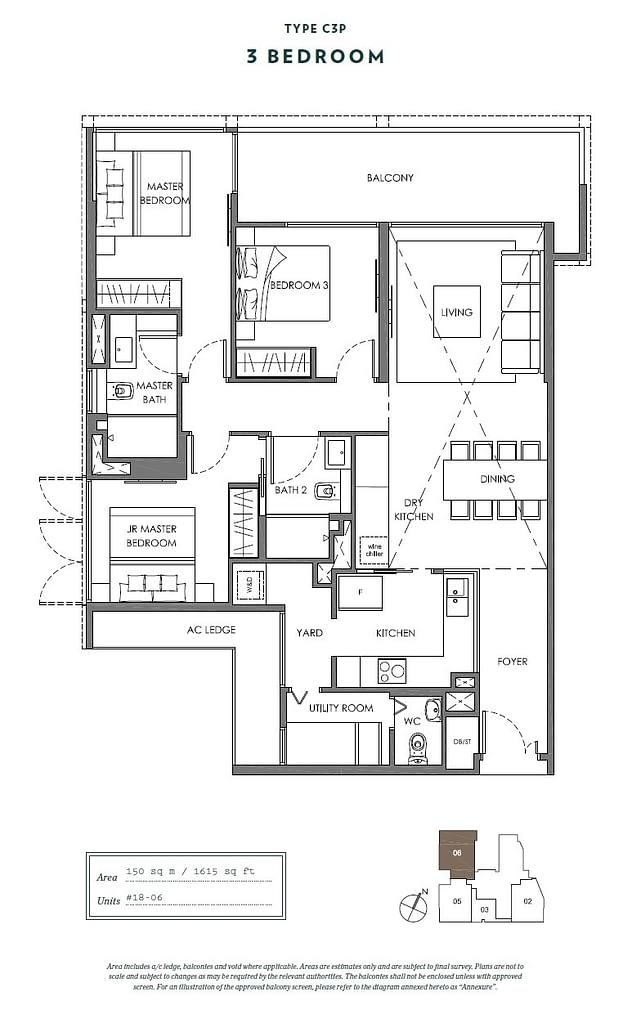 Nyon Nyon floorplan type C3P