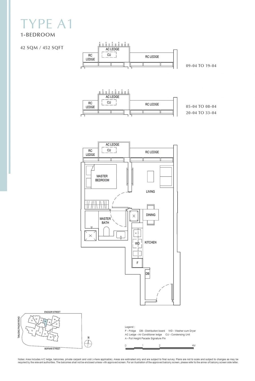 One Bernam One Bernam floorplan A1 scaled