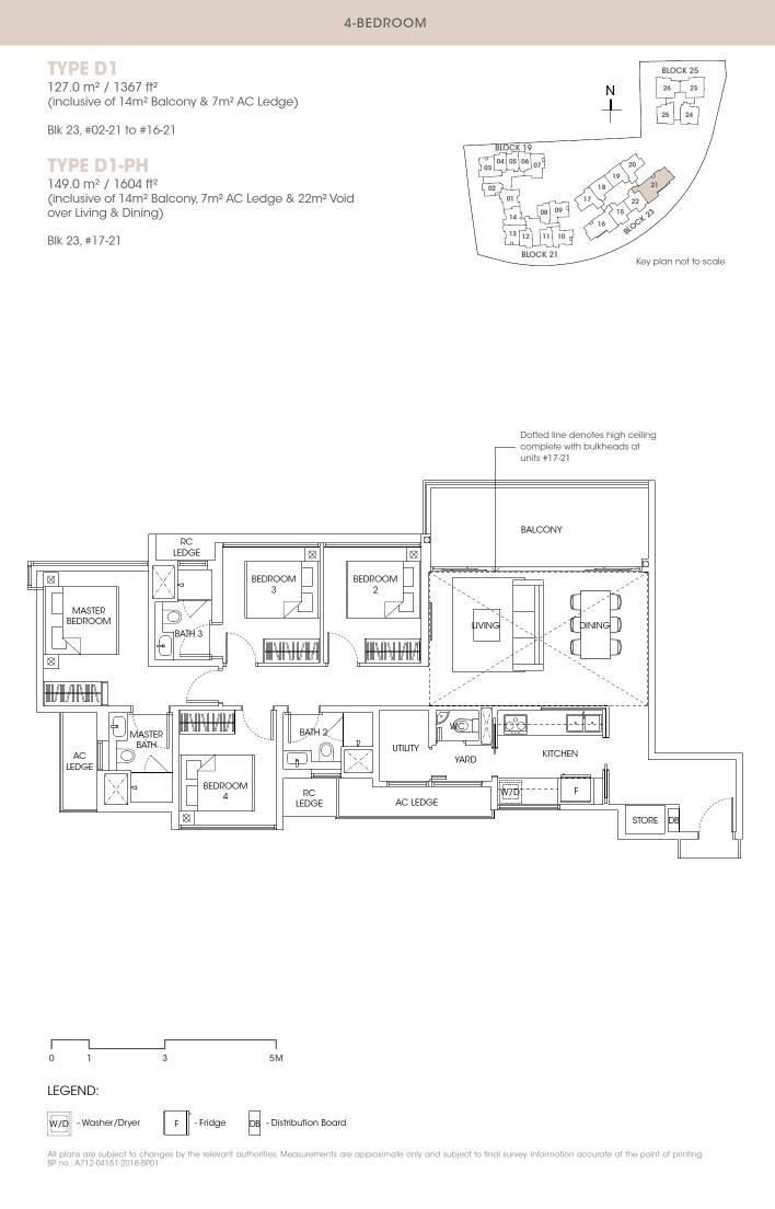 Antares Antares floorplan type D1