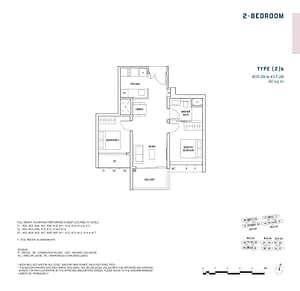 Penrose Penrose floorplan 2b