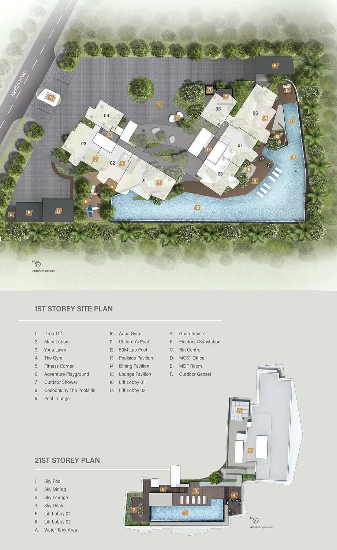 Coastline Residences Siteplan