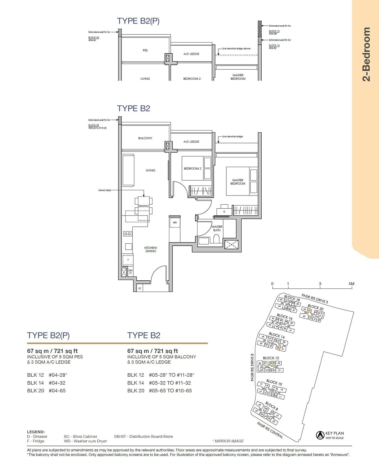 Pasir Ris 8 Pasir Ris 8 Floorplan B2P