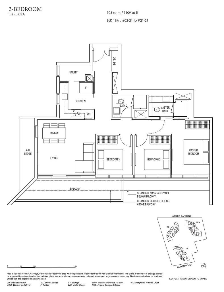 Amber Park Amber Park floorplan layout C2A