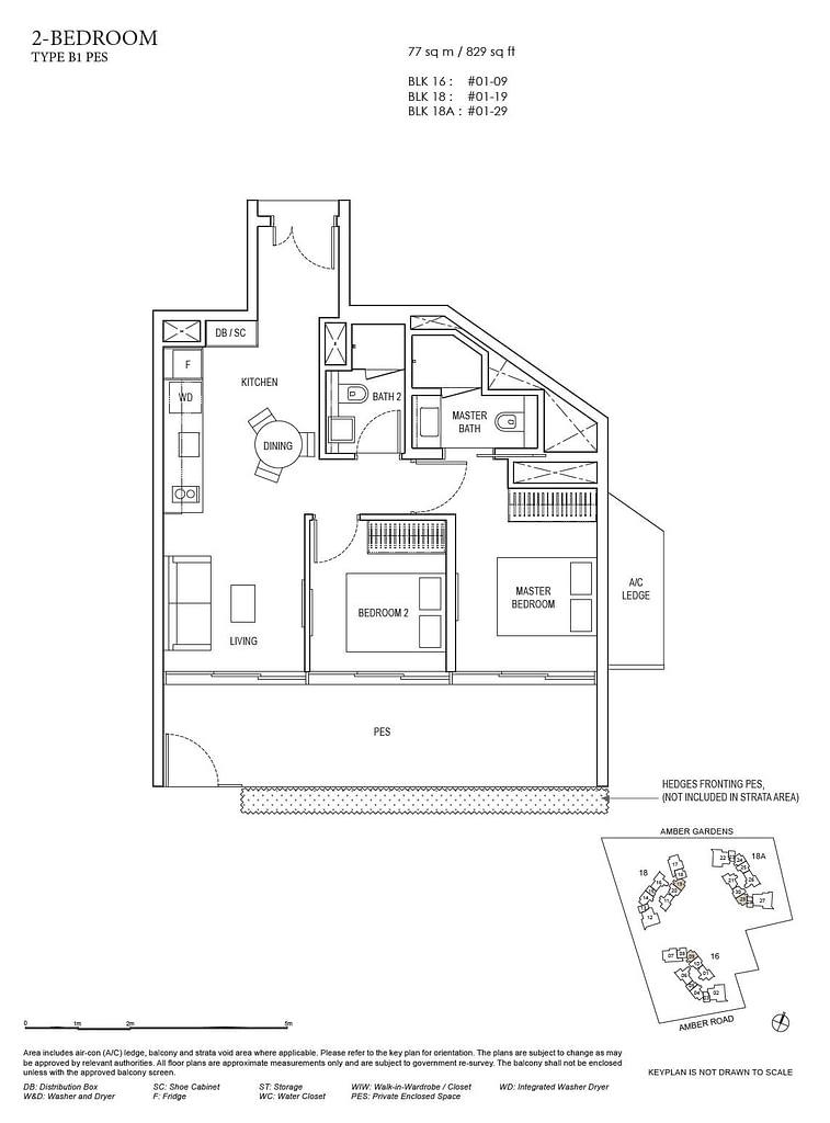 Amber Park Amber Park floorplan layout B1 PES