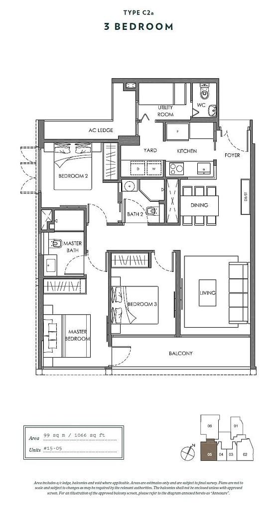 Nyon Nyon floorplan type C2a
