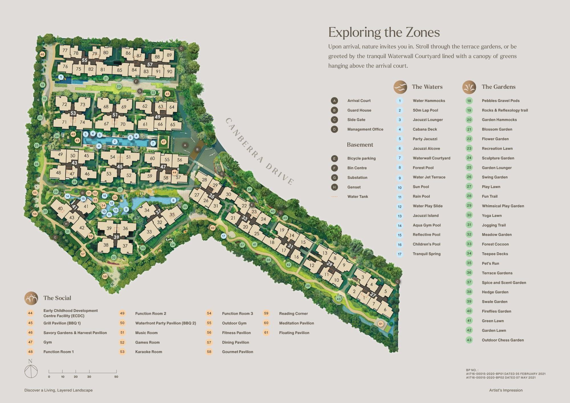 The Watergardens Watergardens Siteplan