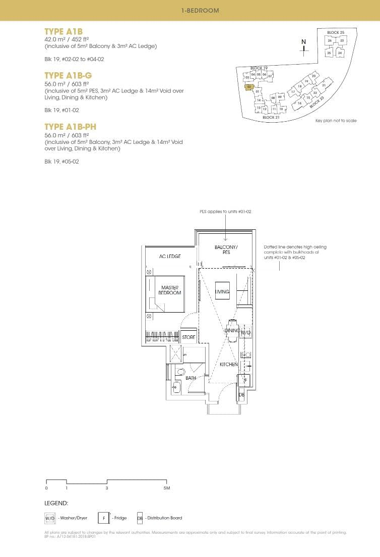 Antares Antares floorplan type A1B