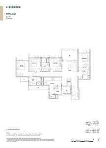 Penrose Penrose floorplan 4b1