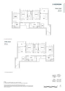 Penrose Penrose floorplan 3b1