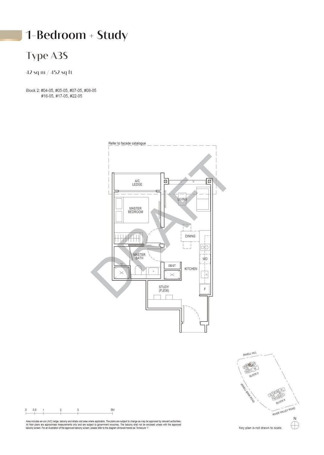 Irwell Hill Residences Irwell Hill Residences floorplan type A3S