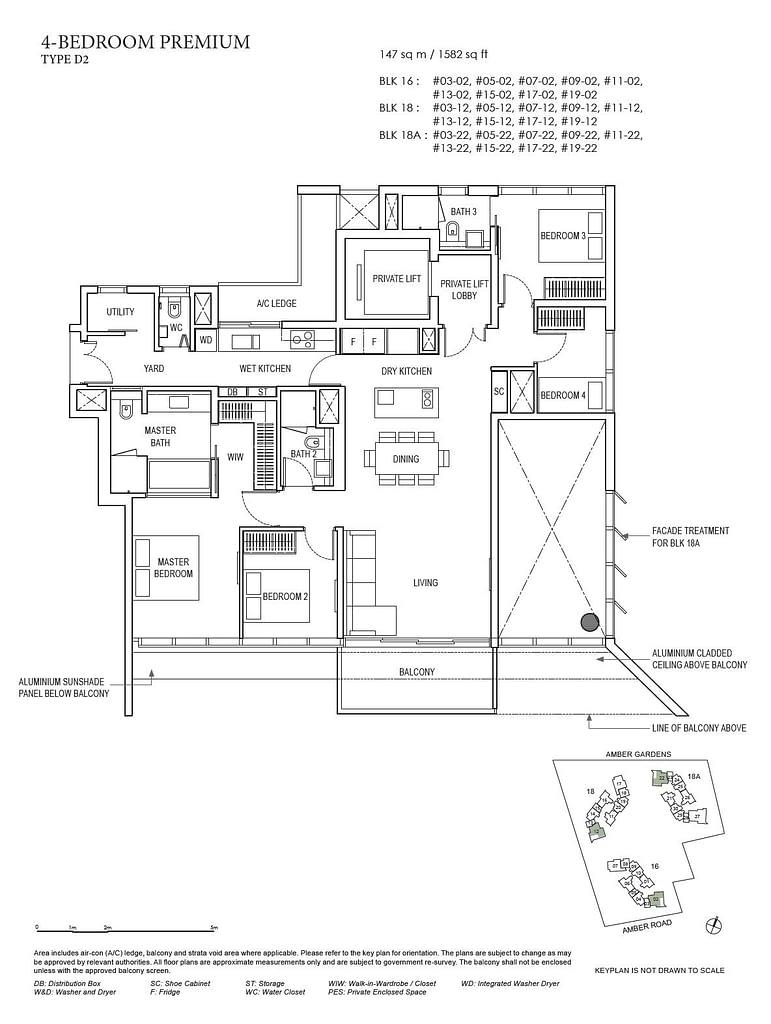 Amber Park Amber Park floorplan layout D2