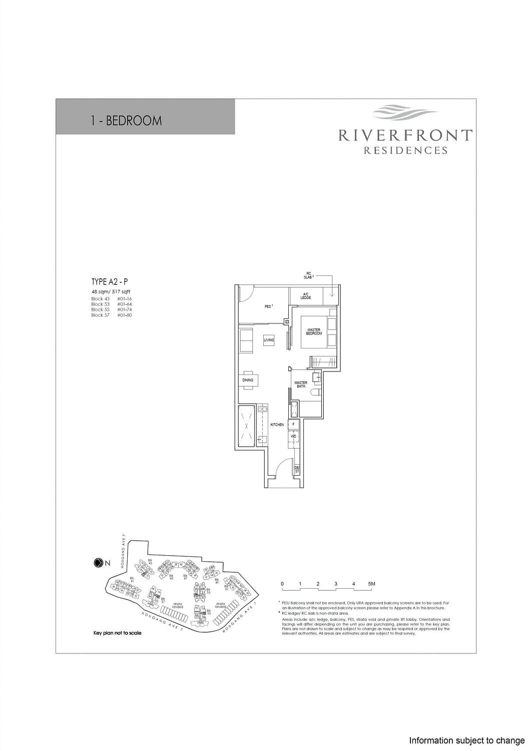 Riverfront Residences Riverfront Residences Floorplan A2 P scaled