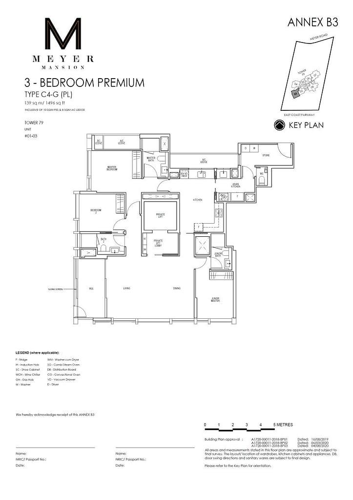Meyer Mansion Meyer Mansion floorplan type C4 G PL