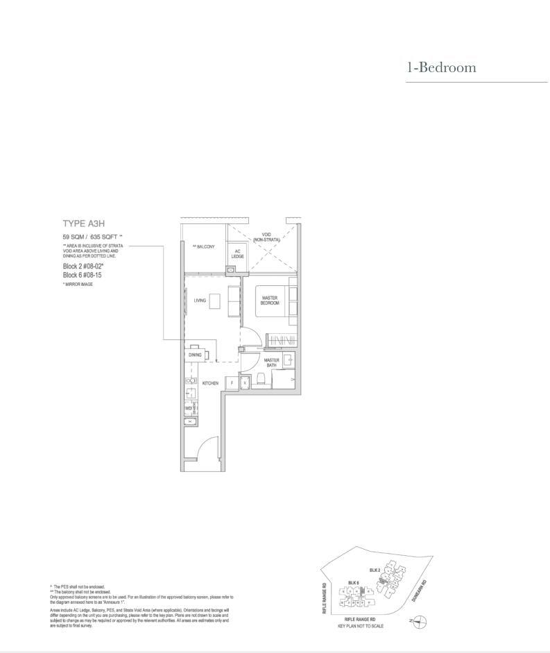 Mayfair Modern Mayfair Modern floorplan type A3H