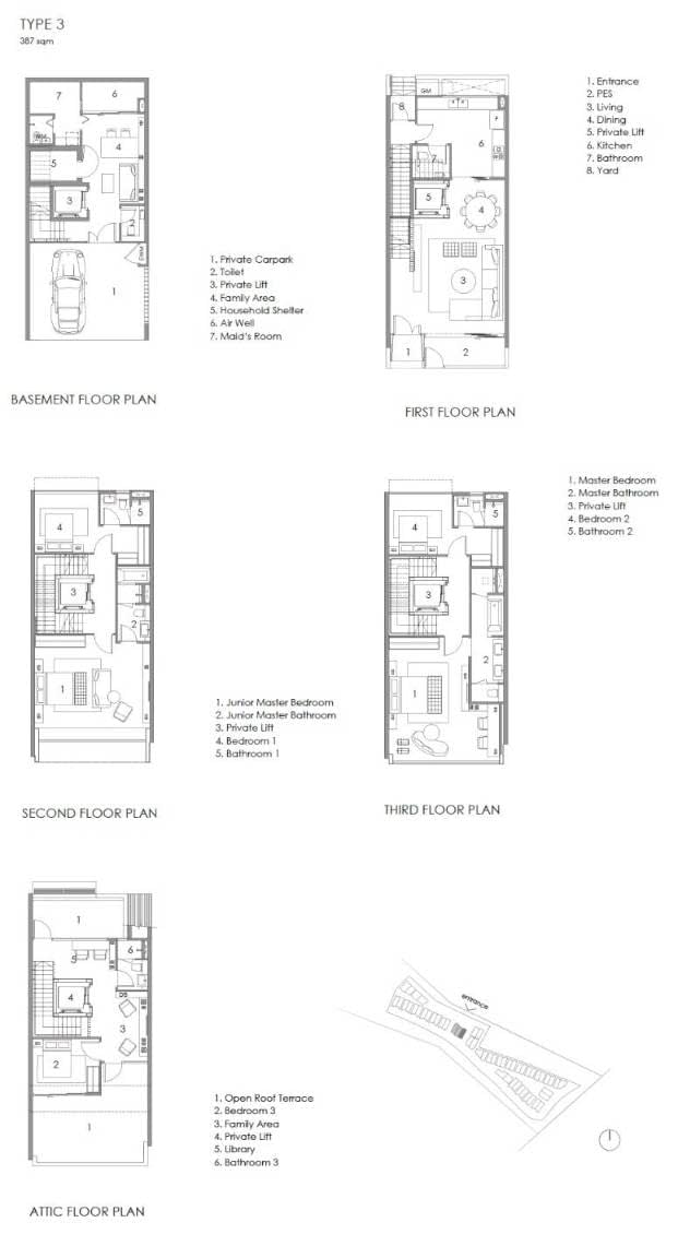 Parkwood Collection Parkwood Collection Floorplan 3C