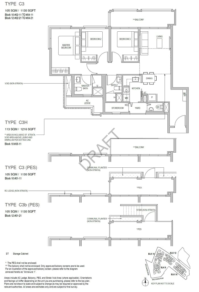 Mayfair Gardens Mayfair Gardens floorplan typeC3PES