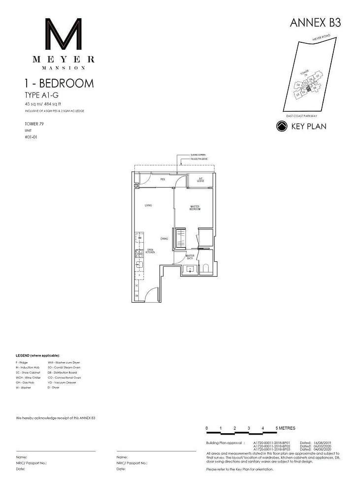 Meyer Mansion Meyer Mansion floorplan type A1 G