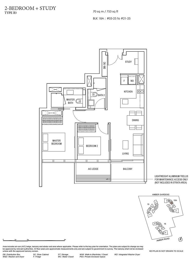 Amber Park Amber Park floorplan layout B3