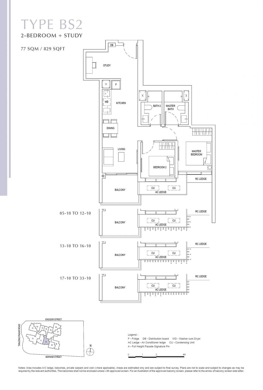 One Bernam One Bernam floorplan BS2 scaled