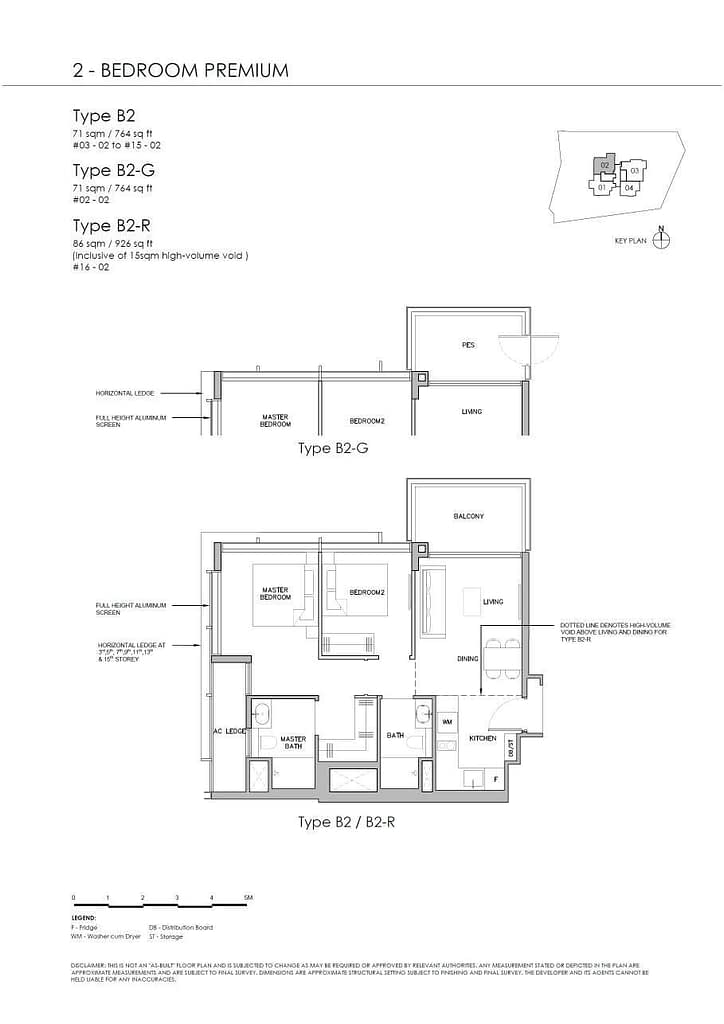 Grange 1866 Grange 1866 floorplan Type B2 G