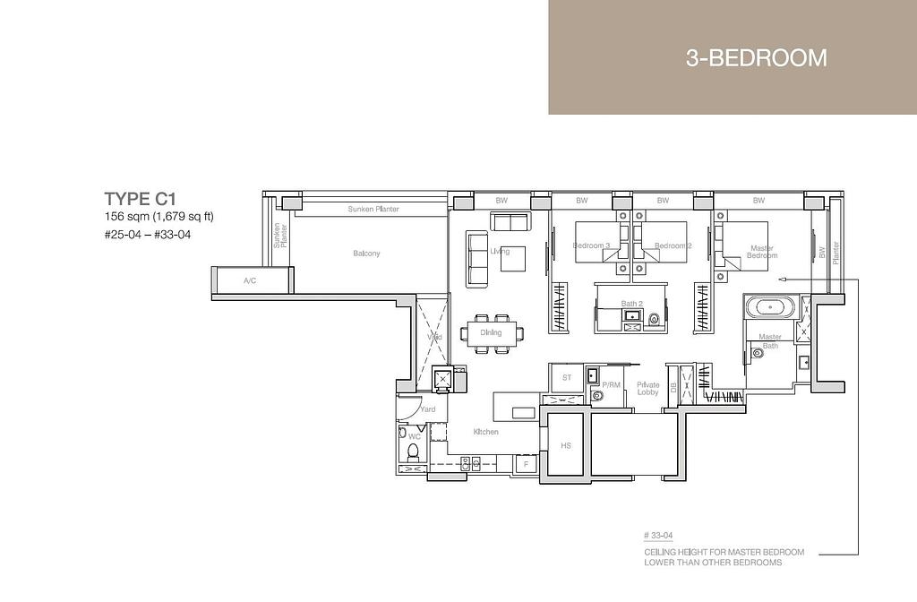 Nouvel 18 Nouvel 18 floorplan typeC1