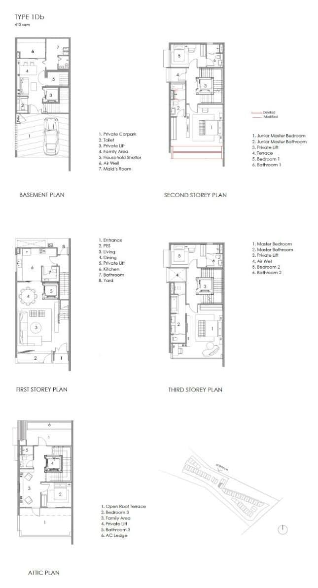 Parkwood Collection Parkwood Collection Floorplan 1D Abutting 1Da
