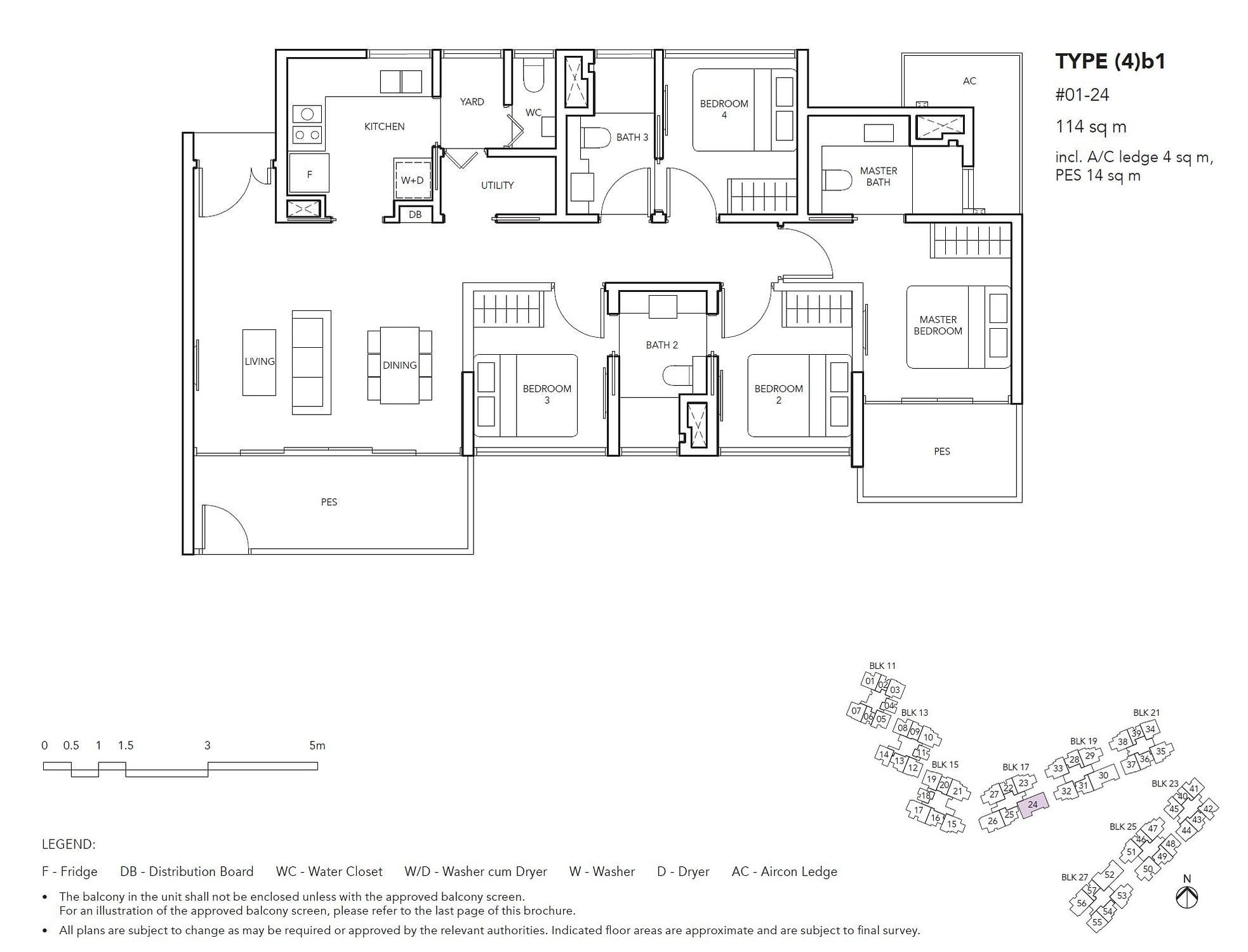 Jovell Jovell Floorplan 4b1