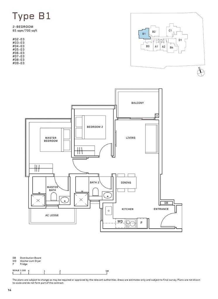MYRA MYRA floorplan type B1