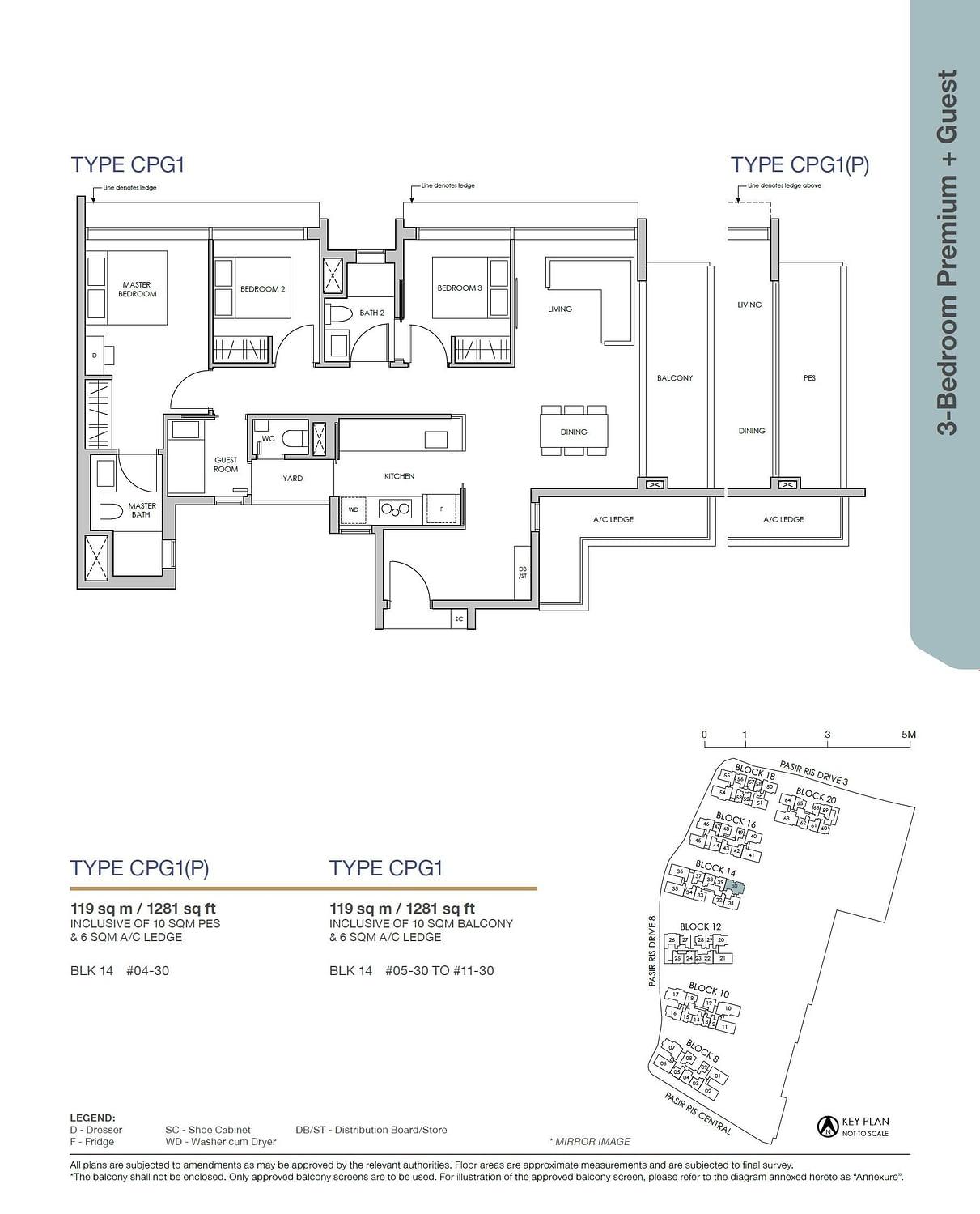 Pasir Ris 8 Pasir Ris 8 Floorplan CPG1
