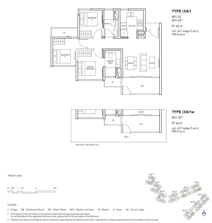 Jovell Jovell Floorplan 3b1w