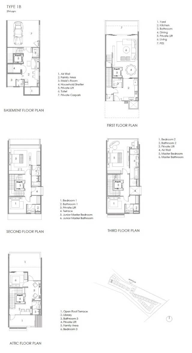Parkwood Collection Parkwood Collection Floorplan 1B