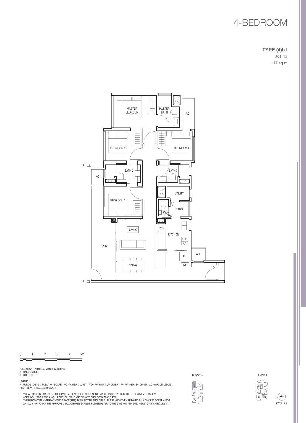 Midwood Midwood Floorplan 4b1