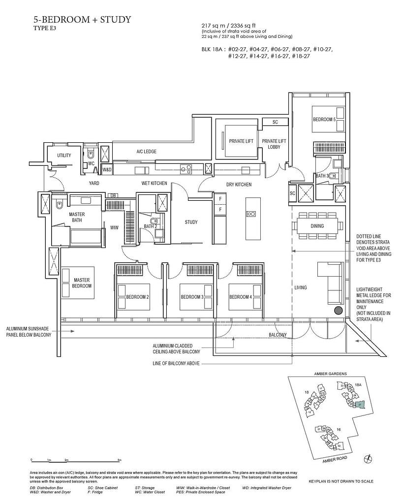 Amber Park Amber Park floorplan layout E3