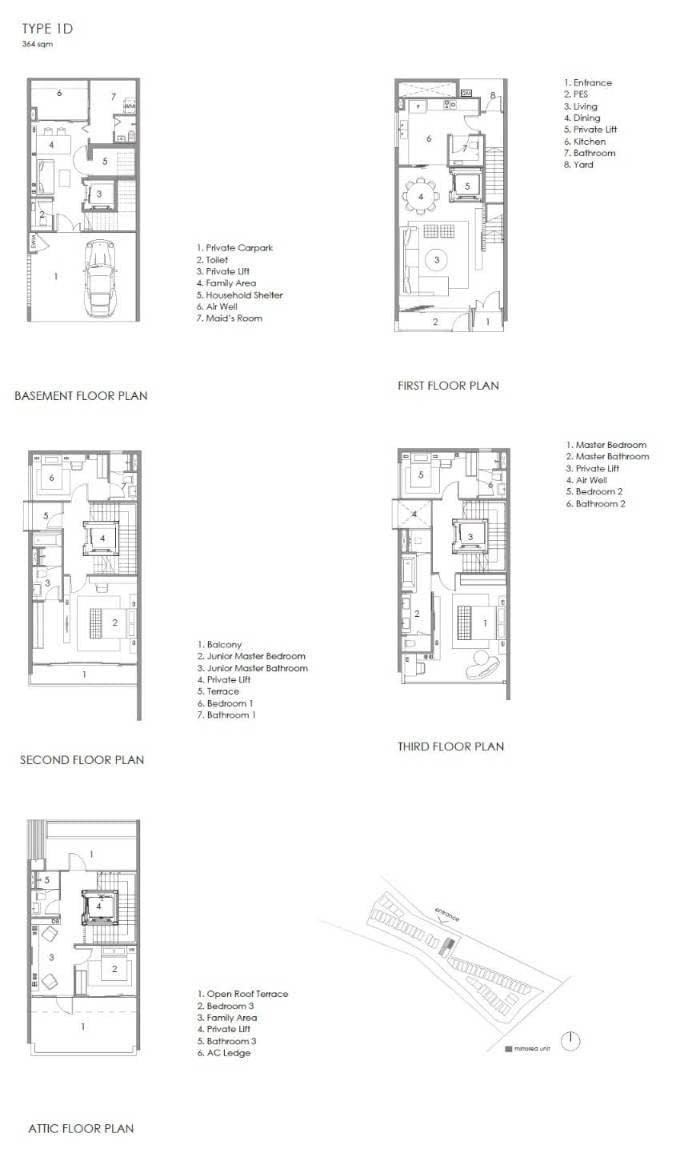 Parkwood Collection Parkwood Collection Floorplan 1D