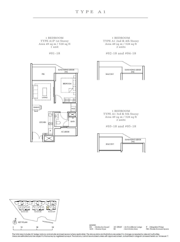 Peak Residence Peak Residence Floorplan A1
