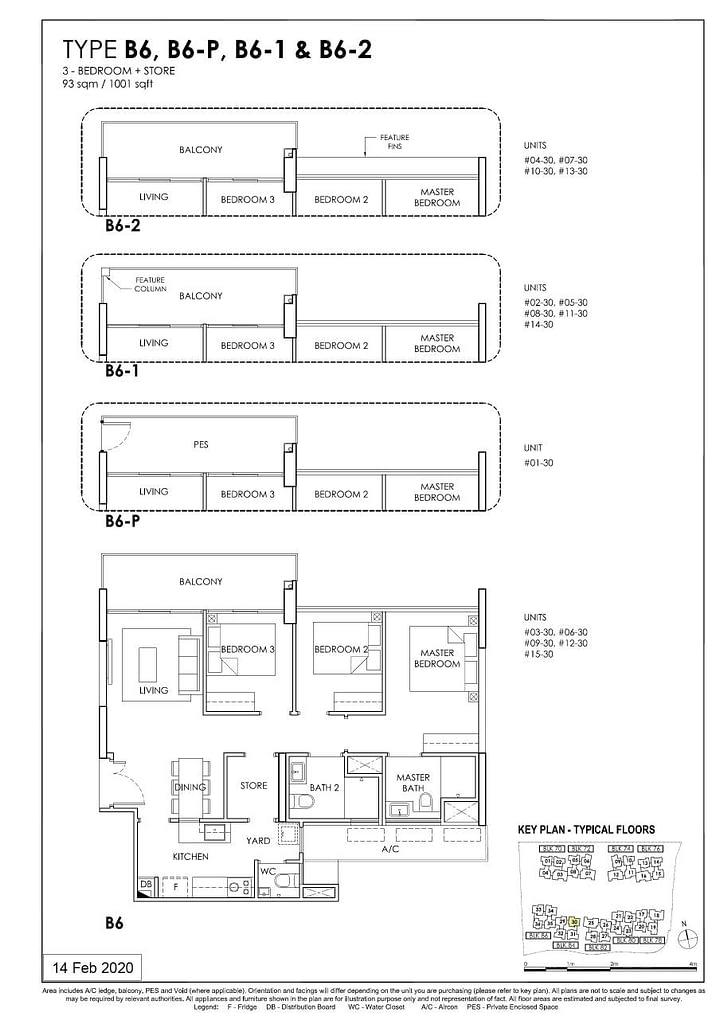 OLÁ OLA floorplan type B6 P