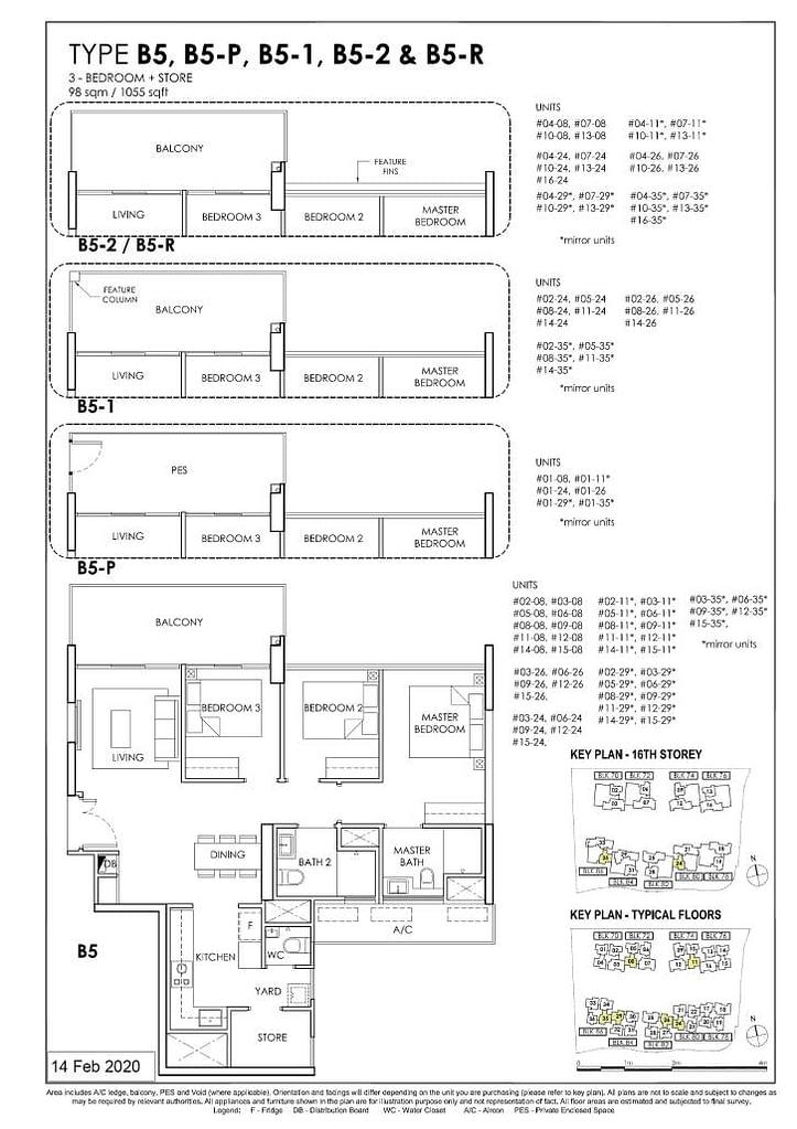 OLÁ OLA floorplan type B5 R