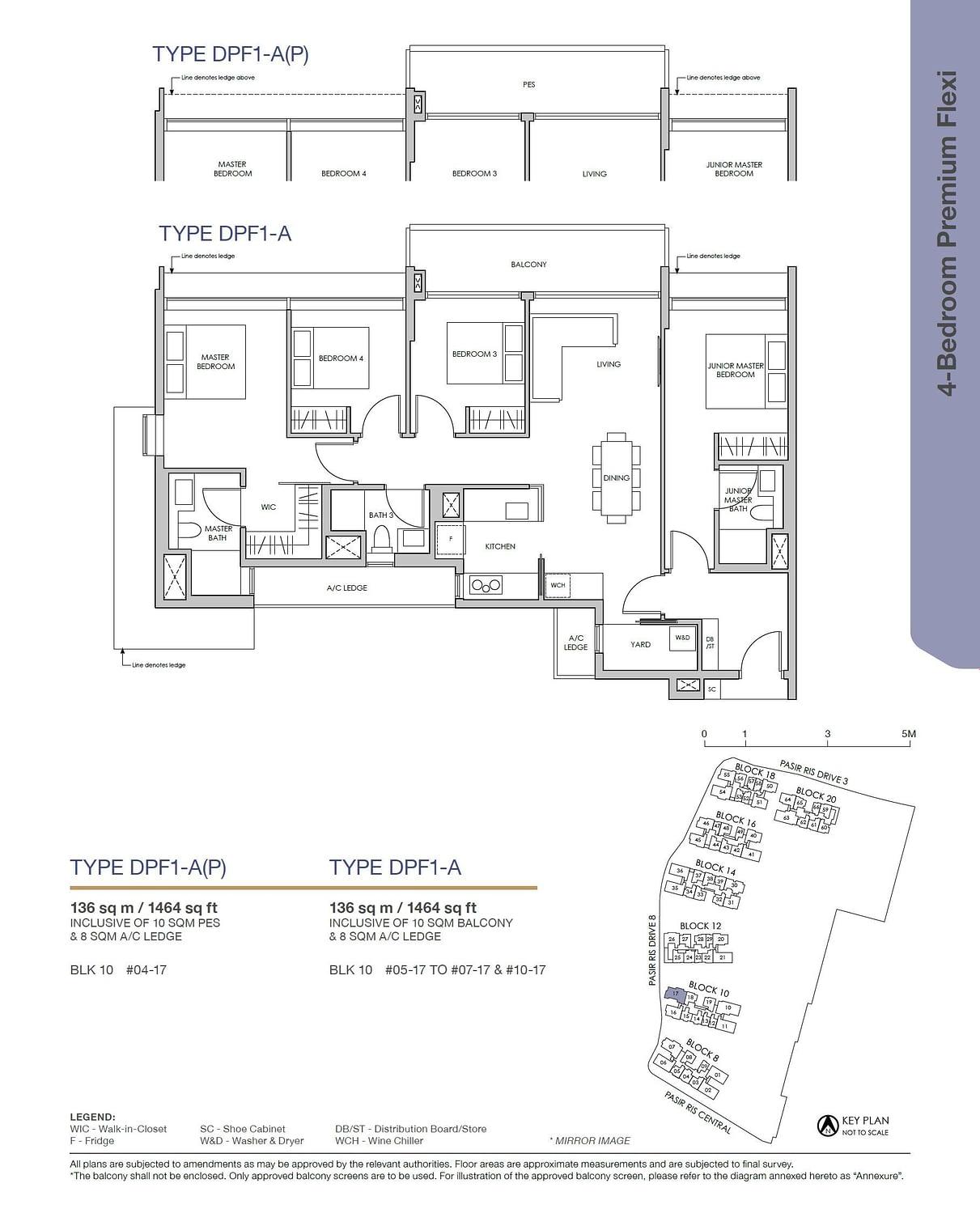 Pasir Ris 8 Pasir Ris 8 Floorplan DPF1 A