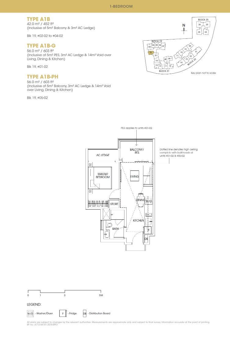 Antares Antares floorplan type A1B PH