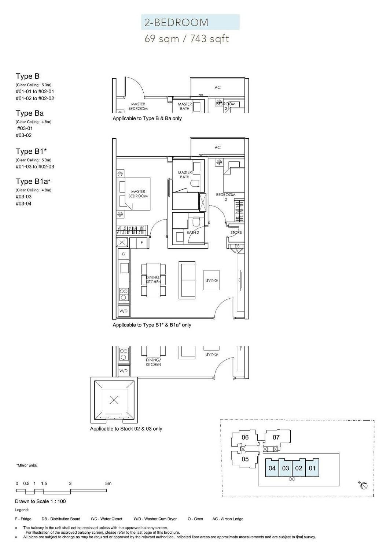 Sloane Residences Sloane Residences Floorplan B