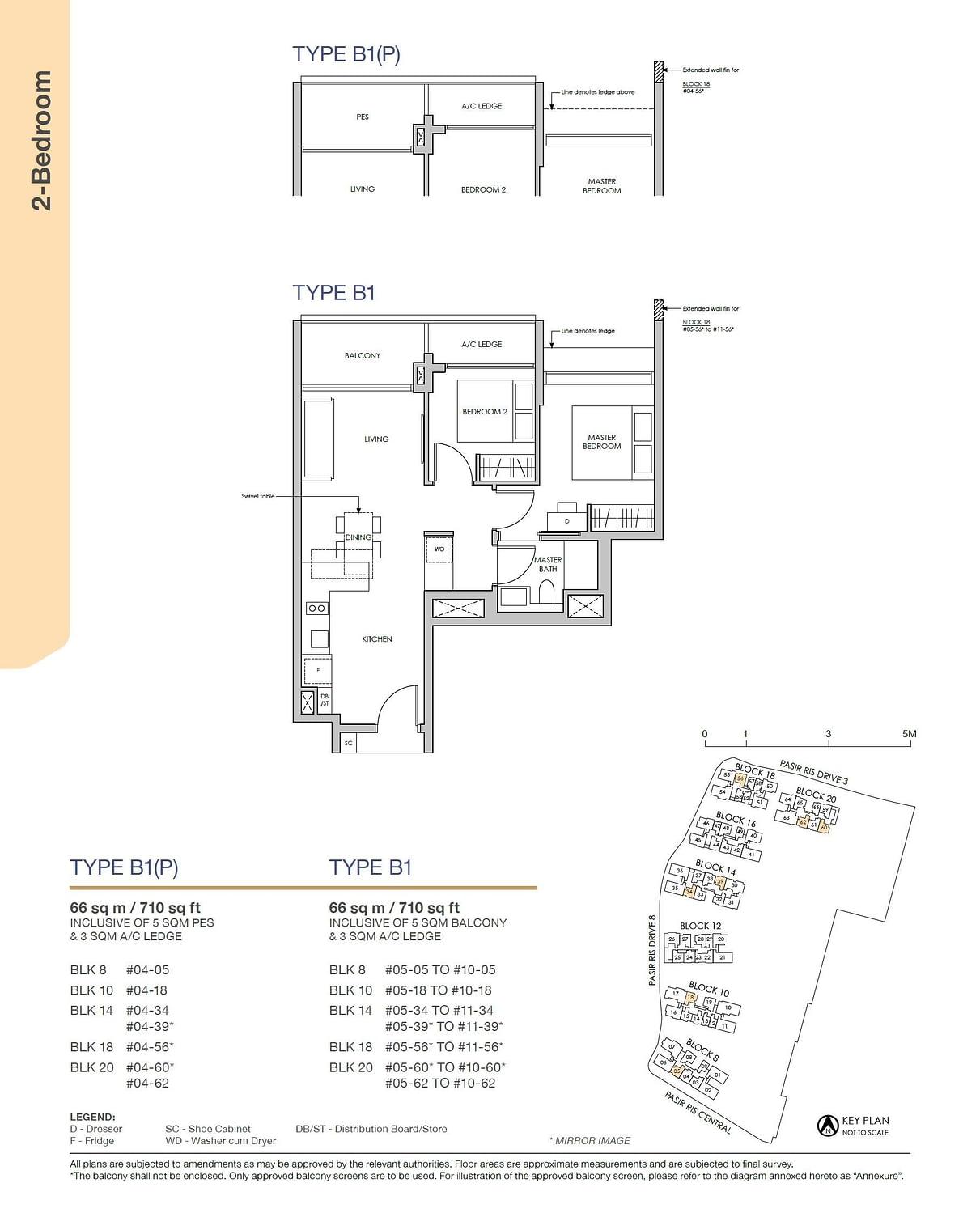 Pasir Ris 8 Pasir Ris 8 Floorplan B1