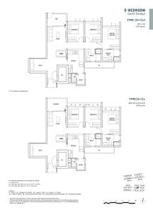 Penrose Penrose floorplan 31c