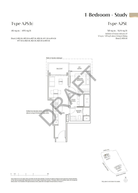 Irwell Hill Residences Irwell Hill Residences floorplan type A2Sb