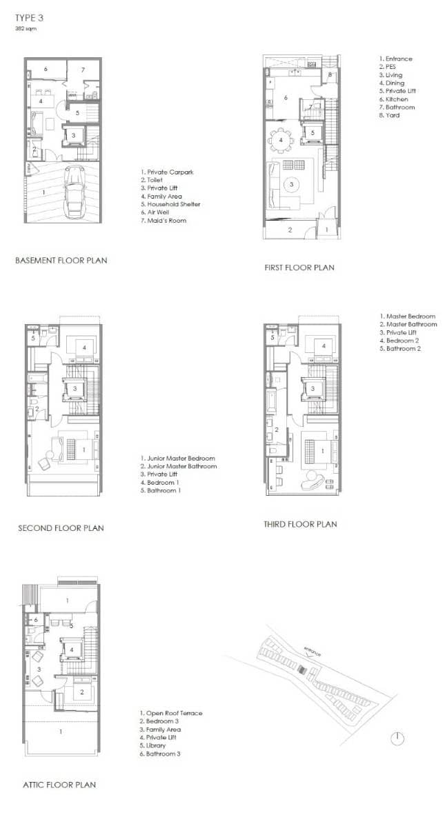 Parkwood Collection Parkwood Collection Floorplan 3B