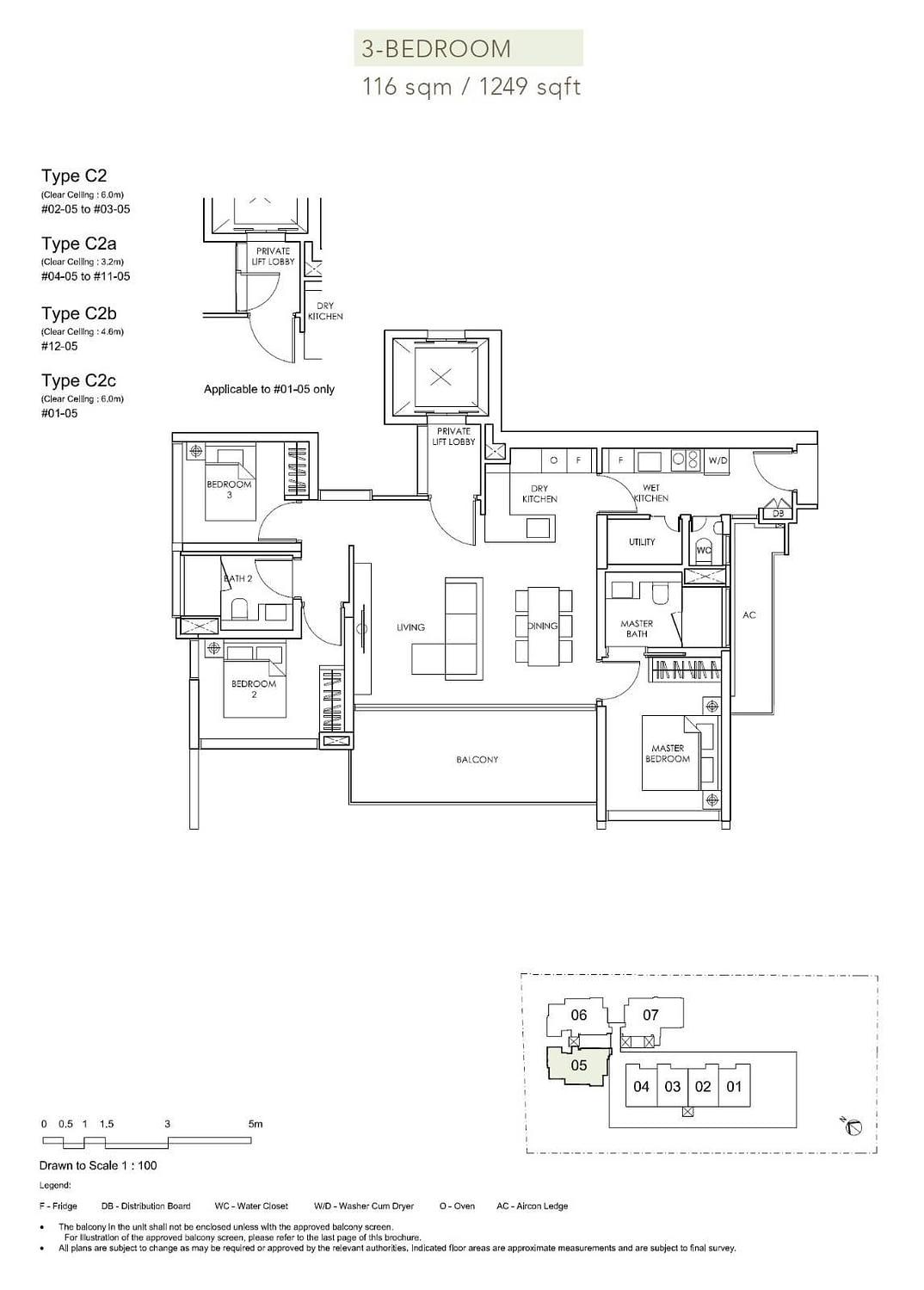 Sloane Residences Sloane Residences Floorplan C2b