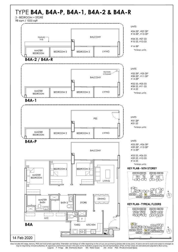 OLÁ OLA floorplan type B4A P