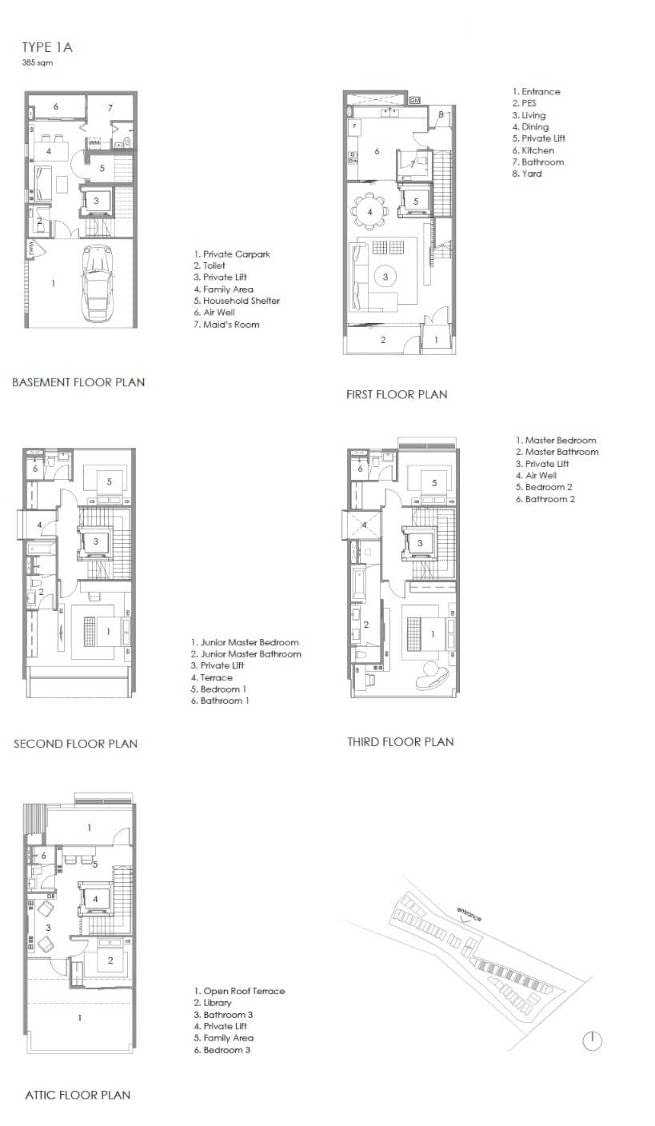 Parkwood Collection Parkwood Collection Floorplan 1A