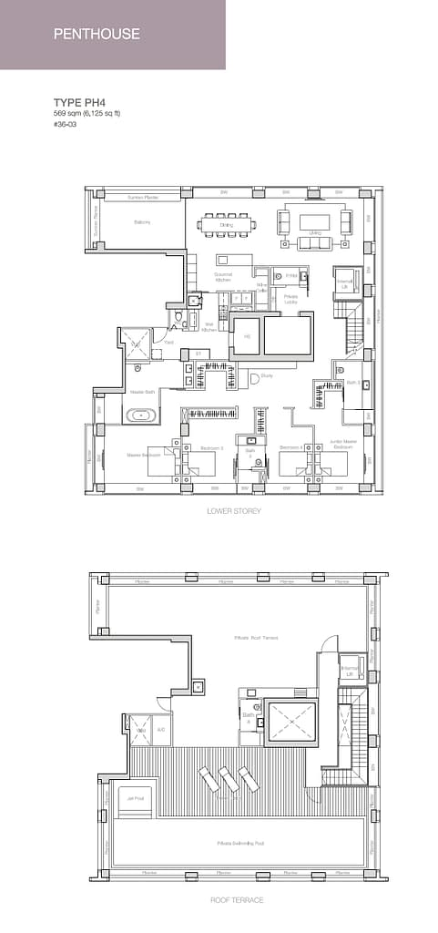 Nouvel 18 Nouvel 18 floorplan typePH4